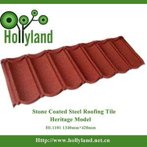 Metal Roofing Sheet with Colored Stone Coated (Classical Tile) pictures & photos