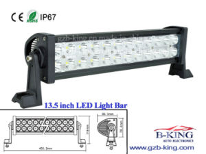 Ce E-MARK 13.5 Inch IP67 72W Epistar LED Light Bar pictures & photos