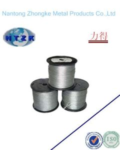 6*19+Iwrc Ungalvanzied and Galvanized Steel Wire Rope, Chinese Rope pictures & photos