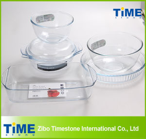 High Borosilicate Glass Material Bakeware Item pictures & photos