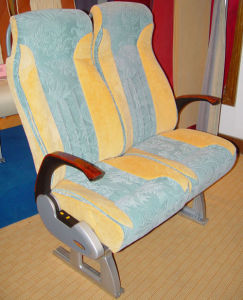 Passenger Safety Coach Ordinary Bus Seats Auto Seat