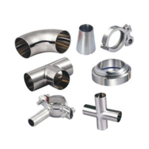 Custom Stainless Steel Sanitary Parts pictures & photos