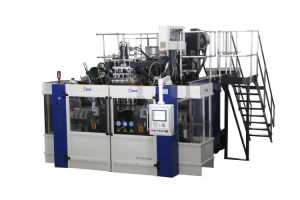 Blow Molding Machine B20d-750 2 Stations 2 Cavities pictures & photos