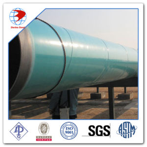API 5L Gr. B X42/52/60/65/70 External 3lpe 3lpp Fbe Coating or Coated Carbon Steel Pipe pictures & photos