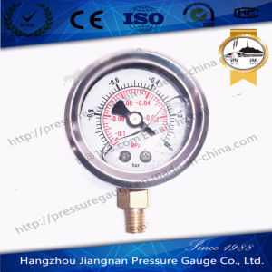 40mm 1.5′′ Stainless Steel Oil Pressure Gauge Filled with Glycerin pictures & photos