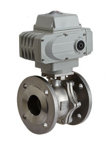 Electric Actuated Flange on off Thread ISO5211 Mounting Pad Ball Valve pictures & photos