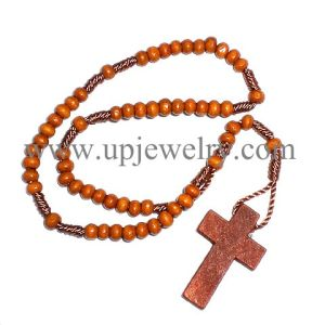 Wood Rosary (URO2-060)