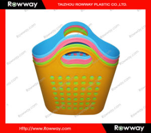 Laundry Basket, Plastic Shopping Basket pictures & photos