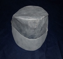 Dispsoable PP Non-Woven Work Cap with Peak (YB01-9)