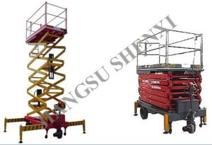 Self-Propelled Hydraulic Work Platform pictures & photos