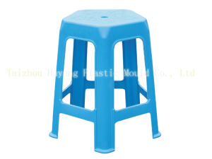 Plastic Dining Stacking Stool Mould (HY019) pictures & photos