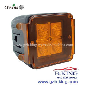 12W CREE LED Work Light (with Amber/Green Cover) pictures & photos