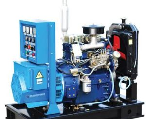 30kVA New Holland Series Open Diesel Generator Set pictures & photos