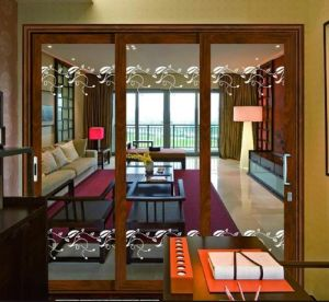 Luxury Entrance Sliding Door (pH-8836) pictures & photos