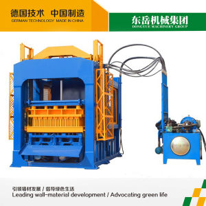 Fully Automatic Fly Ash Brick Making Machine Qt10-15 Block Machine Price pictures & photos