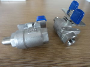 Stainless Steel 2 Piece Thread Mf Ball Valve pictures & photos