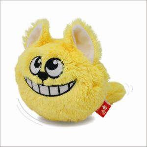 Electric Cute Plush Cover Cat Ball Toy (WPE9001)