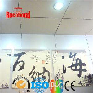 Silver Color Wall Cladding ACP Aluminium Composite Panel (RCB2013-N15) pictures & photos