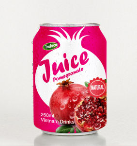 High Quality 250ml Canned Pomegranate Fruit Juice Drink pictures & photos