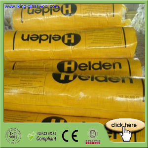 Yellow Color Glass Wool Blanket Insulation with Aluminum Foil pictures & photos