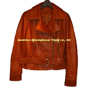 Leather Jacket (LAMB OUTRIGGER 001)