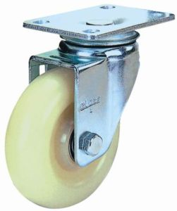 Industrial Wheel Swivel Nylon Caster (White) pictures & photos