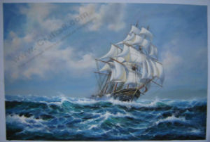 Seascape & Boat Painting -008
