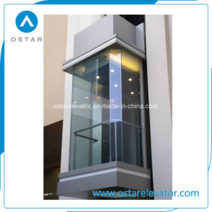 800kg 1.0m/S Square Panoramic Lift, Passenger Elevator, Observation Elevator pictures & photos