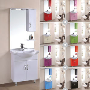 Modern Mirrored Bathroom Floor Cabinet pictures & photos
