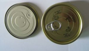 Tinplate (or TFS) Easy Open End (307 DIA For Packing Tuna Fish)