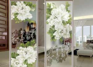 Printing Art Tempered Glass of Low Price pictures & photos