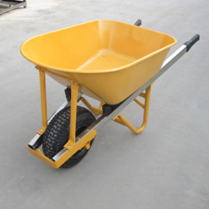 Heavy-Duty Steel Tray Wheelbarrow pictures & photos