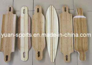 Bamboo Skateboard Deck of Good Quality