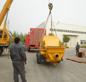 Trailer-Mounted Concrete Pump (HBTS80-16-174R)