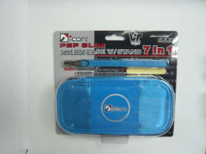 Nylon Case W/Stand 7 In 1 for PSP Slim (IC-PSP03016)