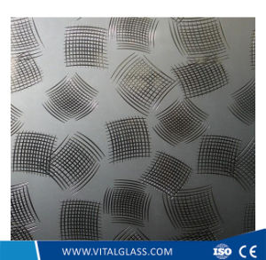 Frosted Glass Decorative Art Glass for Bathroom Glass pictures & photos