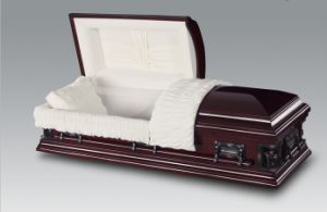 Luxes Poplar Wood Casket and Coffin for Funeral