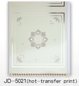 PVC Panel (hot transfer - JD5021) pictures & photos