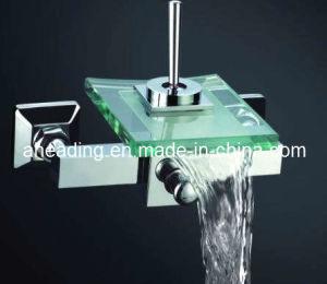 Basin Faucet with Glass Spout (SW-A111) pictures & photos