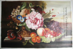 Flower Paintings--Canvas Painting