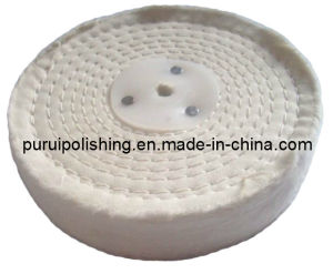 Cotton White Stitch Polishing Wheel for Metal Final High Polishing pictures & photos