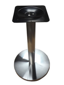 Cheap Stainless Steel Metal Table Base (HY-002) pictures & photos
