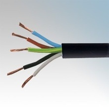 Rvv Copper Onductor 5-Core PVC Insulated PVC Sheathed Flexible Wire pictures & photos