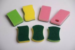 Shape Sponge Scourer (8007) pictures & photos