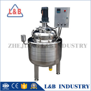 Stainless Steel Body Lotion Mixing Tank pictures & photos