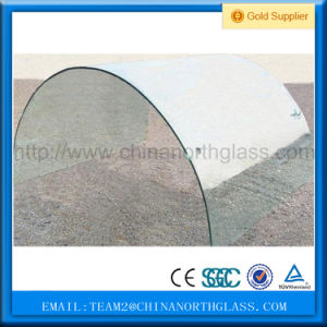 Tempered Curved Glass/ Bended Tempered Glass for Buildings pictures & photos