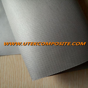 0.45mm Fiberglass Fabric Coated PU For Fireproof Blanket pictures & photos