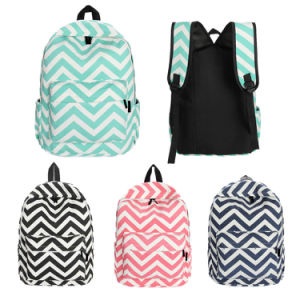 Canvas School Backpack for Teenager Girls (YX-HB11)