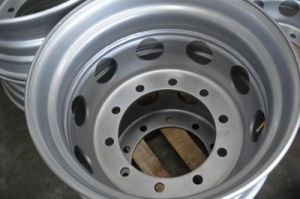 22.5X9.00 Steel Rims for Truck Trailer pictures & photos