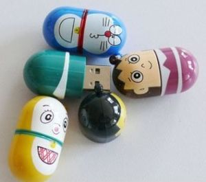 Cartoon Doll USB Flash Drive